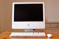 IMAC 20 INCH POWER PC G5 1.5 GB 250GB OS MAC OFFICE  140$