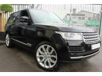 2013 BLACK RANGE ROVER VOGUE 4.4 SDV8 DIESEL AUTO CAR FINANCE FR £466 PCM
