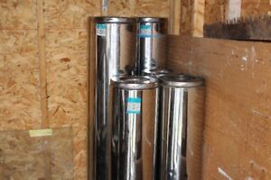 "Security Brand - 6"" Insulated Stainless Steel Chimney Pipe"