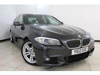 2012 12 BMW 5 SERIES 2.0 520D M SPORT 4DR AUTOMATIC 181 BHP DIESEL