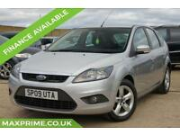 2009 09 FORD FOCUS 1.6 ZETEC 100 BHP CHEAP INSURANCE TAX + VERY LOW MILES