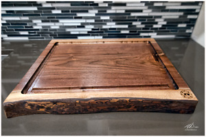 Wood Cutting Board Refinishing