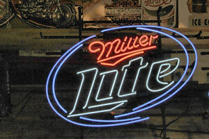 NEON LIGHTS  AND METAL SIGNS AND DIE CAST MODELS