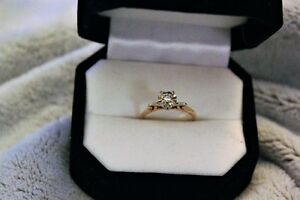 Vintage 1940's  Solitare Engagement Ring