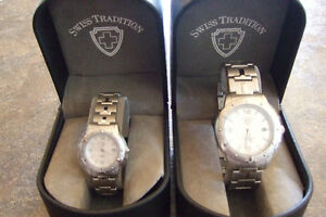 1 Ladies and 1 Mens Swiss Tradition Watches