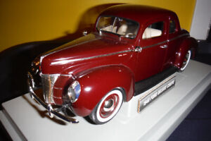 1940 Ford Deluxe Coupe Diecast 1/18
