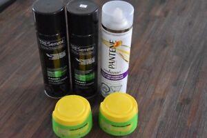 Produits Pour Cheveux (Fixatif+Pâte Gel) ***Neuf***