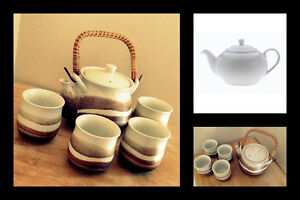 Maxwell Teapot and other Teapot Set with cups
