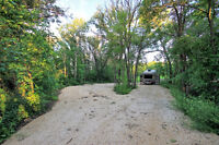 FINALLY 4 ACRES on the RIVER only minutes from WINNIPEG!