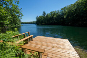 Blue Lake - Waterfront Home or Cottage & 44 acres
