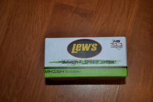 Lew's Mach I speed spool right hang baitcaster