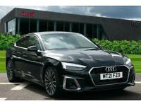 2021 Audi A5 Sportback S line 40 TFSI 204 PS S tronic Auto Hatchback Petrol Aut