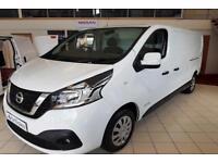 eaf02af3af New 18 Nissan NV300 L2 H1 LWB Acenta 120ps Van  Zero Deposit Finance