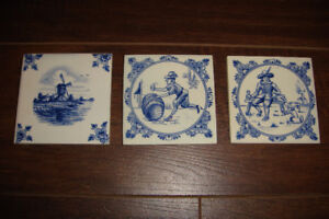 Delft tiles from Holland