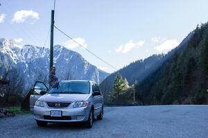 QUICK SALE Mazda MPV Travel Mini Van/ with bed & camping stuff