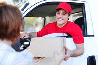 Delivery drivers needed for Red Deer