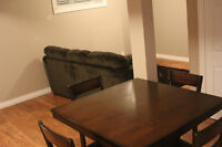 One Bedroom Fully Furnished Basement Suite