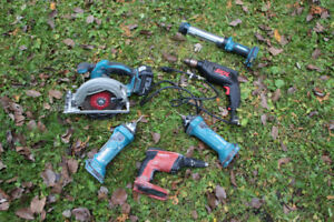 Corded and CordLESS power tools package deal