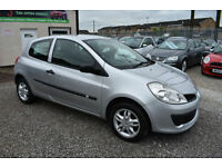 Renault Clio 1.2 16v 3 DOOR EXTREME SILVER 2007 MODEL +BEAUTIFUL