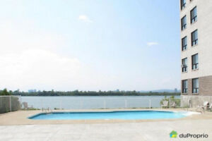 A beautiful waterview 41/2 Condo in Brossard for RENT 7th floor