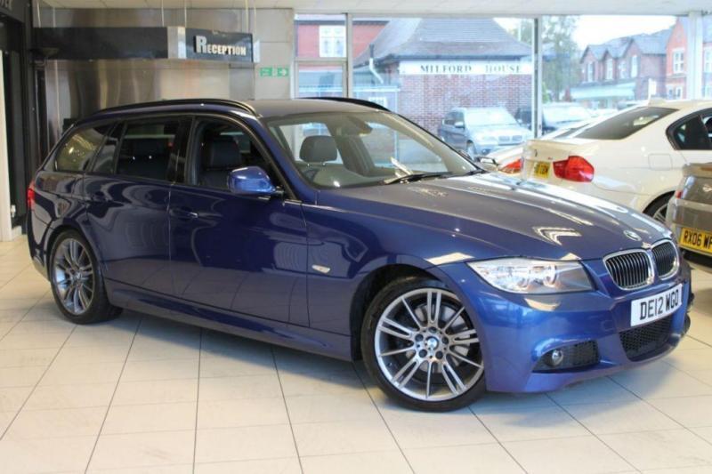 2012 12 BMW 3 SERIES 2.0 318D SPORT PLUS EDITION TOURING 5D 141 BHP DIESEL