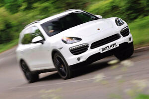 2013 White Porsche Cayenne Black Leather SUV, Crossover