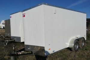 2017 7X14+6 Enclosed/Cargo Trailer Canadain Hauler - ARROW