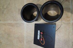 Speaker Port Tubes &Terminal Connectors