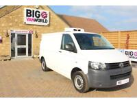 2013 VOLKSWAGEN TRANSPORTER T28 TDI 84 SWB LOW ROOF FRIDGE VAN INSULATED/REFRIGE