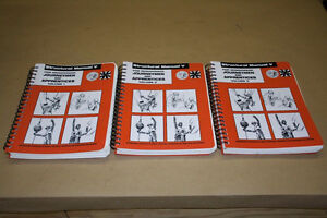 US ironworker manuals V ..volumes 1,2 and 3