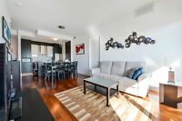 2 bedrooms Penthouse with garage at the Rouge project!