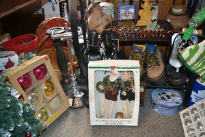 Vintage Christmas Bulb Sets (Boxed!) + Other Various Decorations