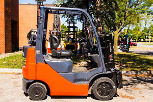 2007 Toyota Forklift indoor and outdoor 4000 Lb capacity