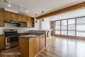 XL 1 Bed 1 Bath + Parking + Storage at Yaletown Heritage Condo