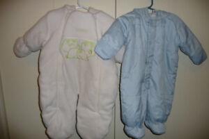 2 Snow Suits