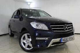 2012 62 MERCEDES-BENZ M CLASS 3.0 ML350 BLUETEC SPORT 5DR AUTOMATIC 258 BHP DIES