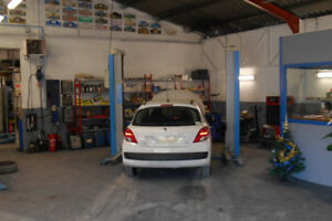 Looking for Automotive bay and shop