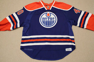 Game-Worn Autographed Oilers Devan Dubnyk Rookie Year Jersey Strathcona County Edmonton Area image 3