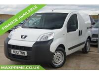 2013 13 PEUGEOT BIPPER 1.2 HDI 75 BHP AIR CONDITIONING + FULL ELECTRICS 70+MPG