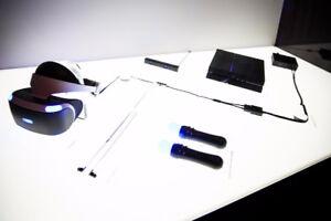PSVR + 2 PSMOVES + PSCAMERA + RESIDENT EVIL 7
