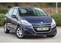 2016 Peugeot 208 1.2 Active PureTech 82 Manual Hatchback