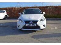 2015 LEXUS CT Lexus CT 200h 1.8 Advance Plus 5dr CVT Auto