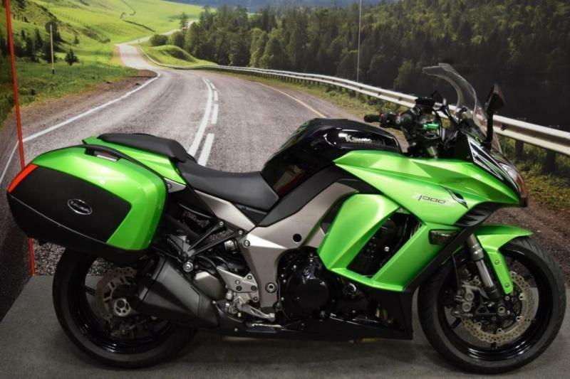 Kawasaki Z1000SX 2011** Short Adjustable Levers, Panniers ...