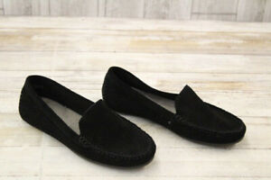 NEW Aerosoles Over Drive black suede loafer 8.5