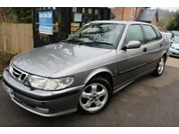 2001 (Y Reg) Saab 9-3 2.2TID Diesel Grey 5 Door FSH Long MOT Low Mileage