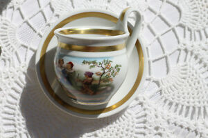 COLLECTIBLE WEIMAR PORCELAIN TEACUP AND SAUCER Strathcona County Edmonton Area image 3