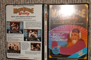 WWF Wrestling - Vintage Atari ST video game