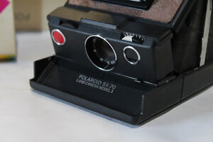 vgc Oldschool Vintage Rare POLAROID SX70 LAND CAMERA Model 3