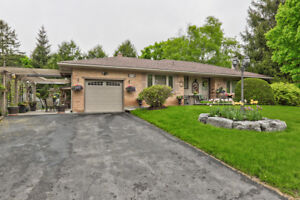 Stunning Immaculate Brick Bungalow On Large Mature Lot In Great