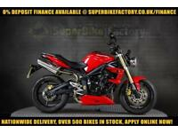 2011 11 TRIUMPH STREET TRIPLE 675CC 0% DEPOSIT FINANCE AVAILABLE